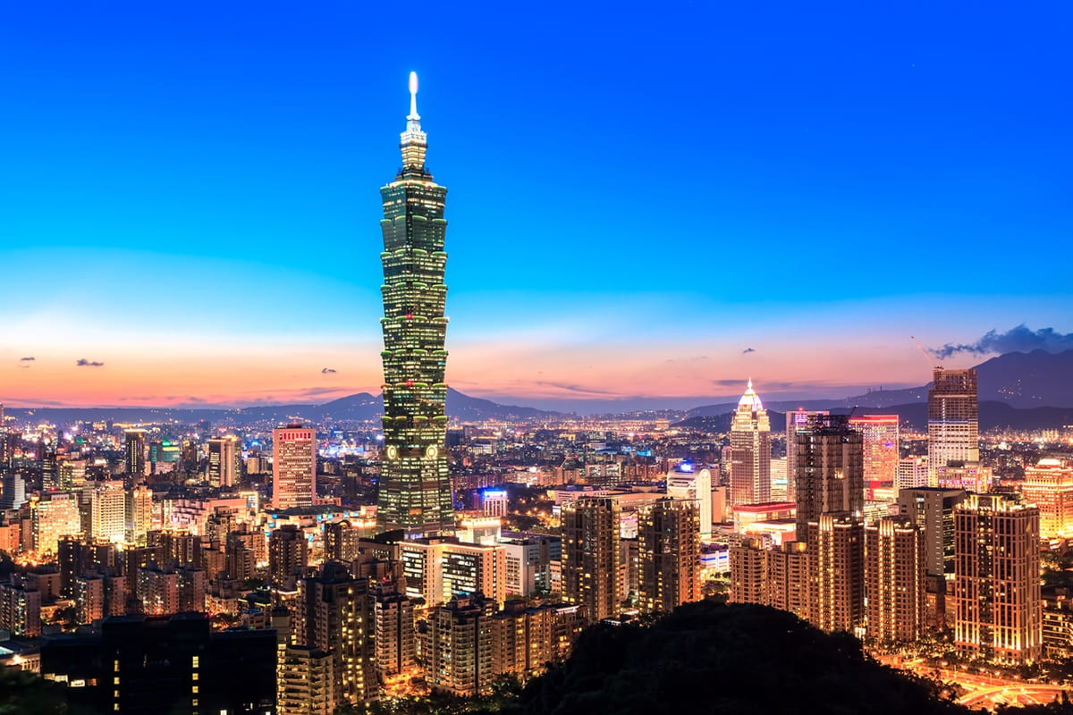 Taiwan 航空券