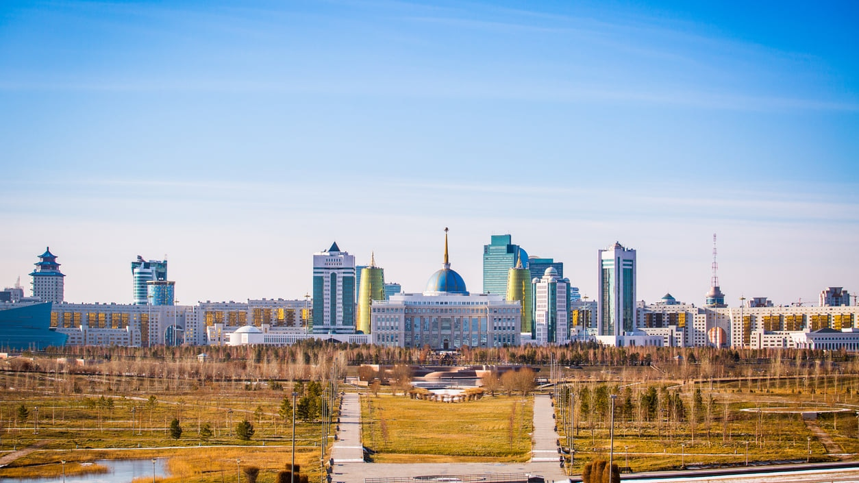 Kazakhstan:The World's 9th Biggest Country with Futuristic Cityscapes and Lake-Dotted Steppes