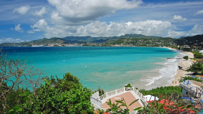 Vibrant Caribbean: Grenada:Also Known As The Spice Island In The Caribbean