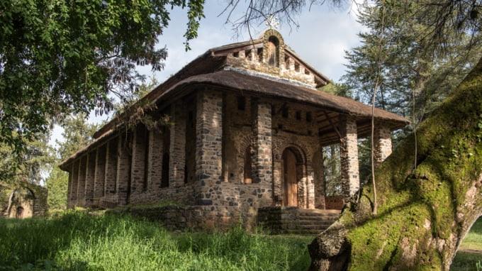 Debre Berhan Selassie Church Ethiopia Africa