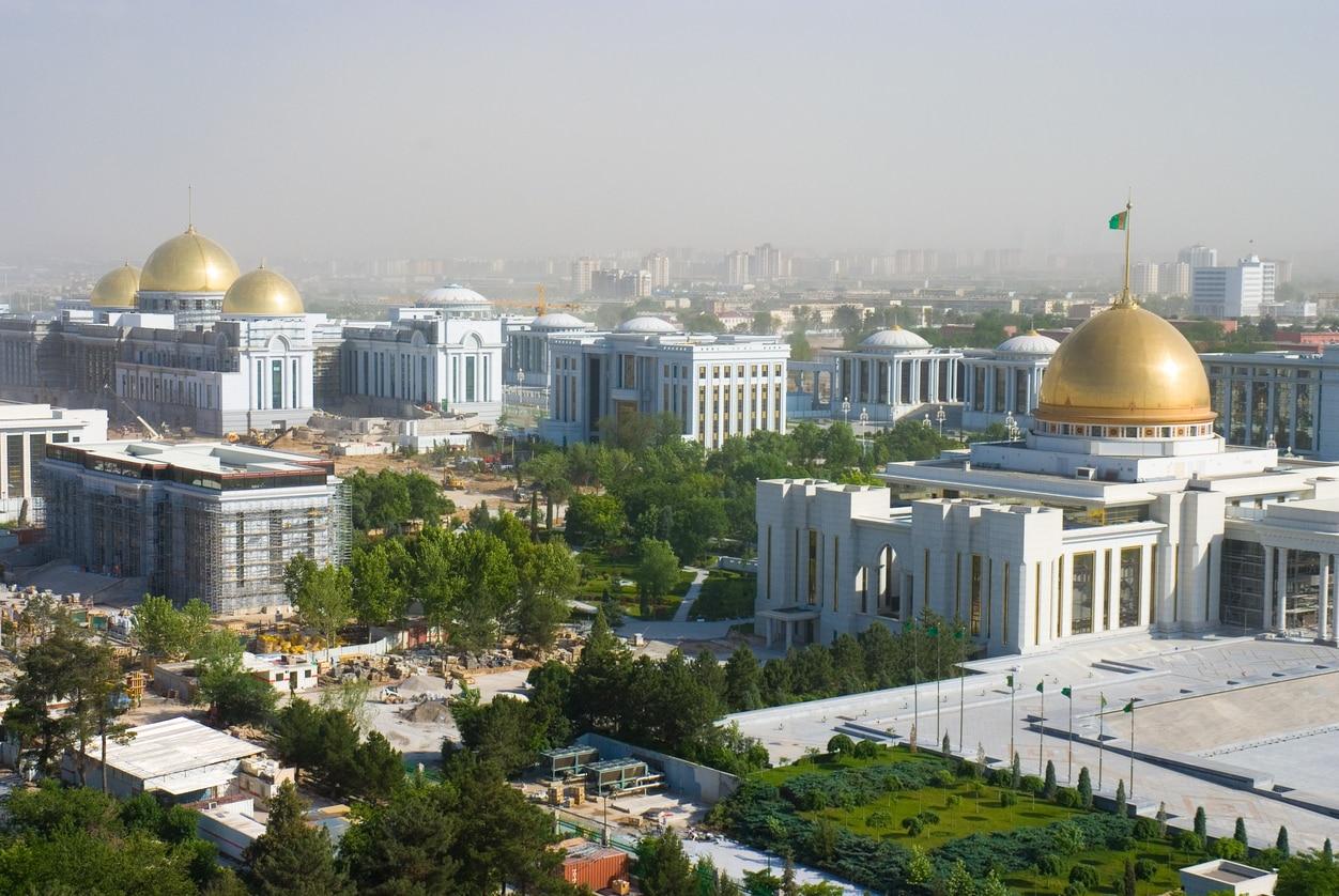 Ashgabat : The City of White Marble