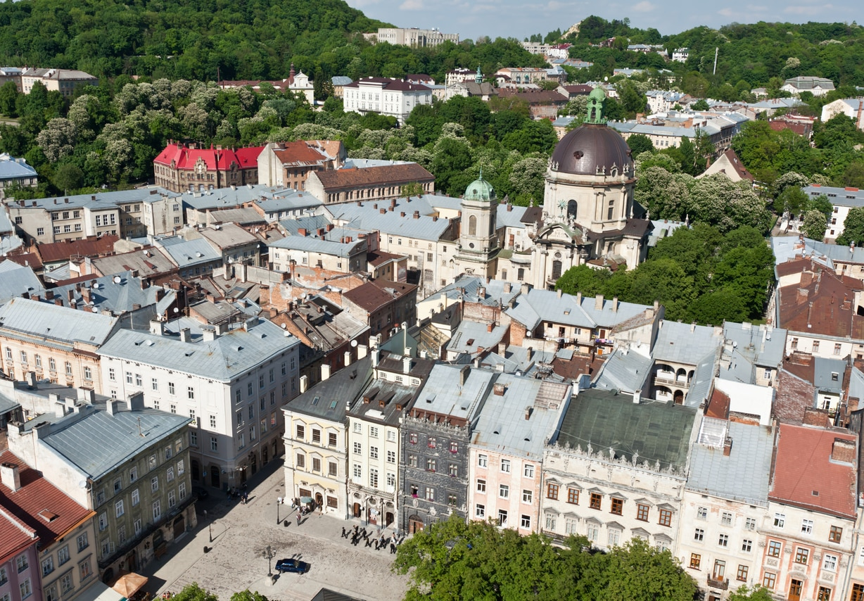 Lviv : A Reminiscence of Glorious and Vivid History