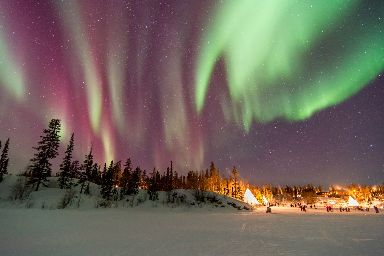 Yellowknife : The City Of Stars And Northern Lights