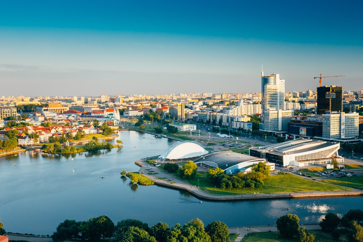 Minsk : The Land with Pleasant Environment and History