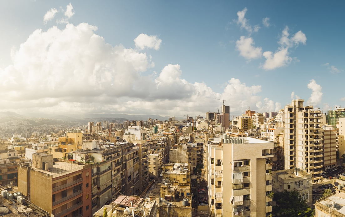 Beirut : Paris of the East and the European Gateway to the Middle East