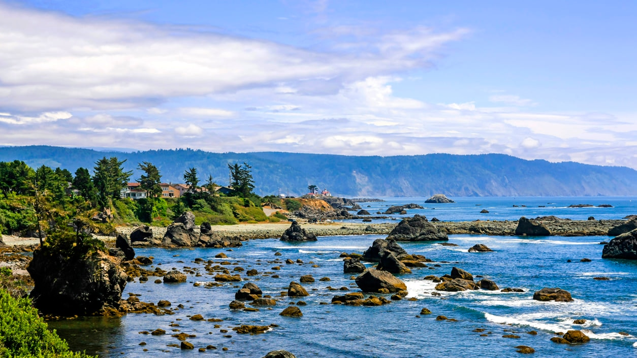 Crescent City:A Home to Water and Marine Animals Tourist Attractions