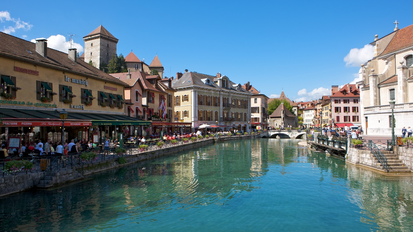 """Annecy : The """"Alpine Venice"""" of South Eastern France that Sublimely Lies on the Tip of Lake Annecy"""