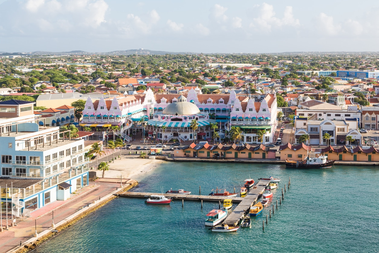 Oranjestad : The Capital City of Aruba