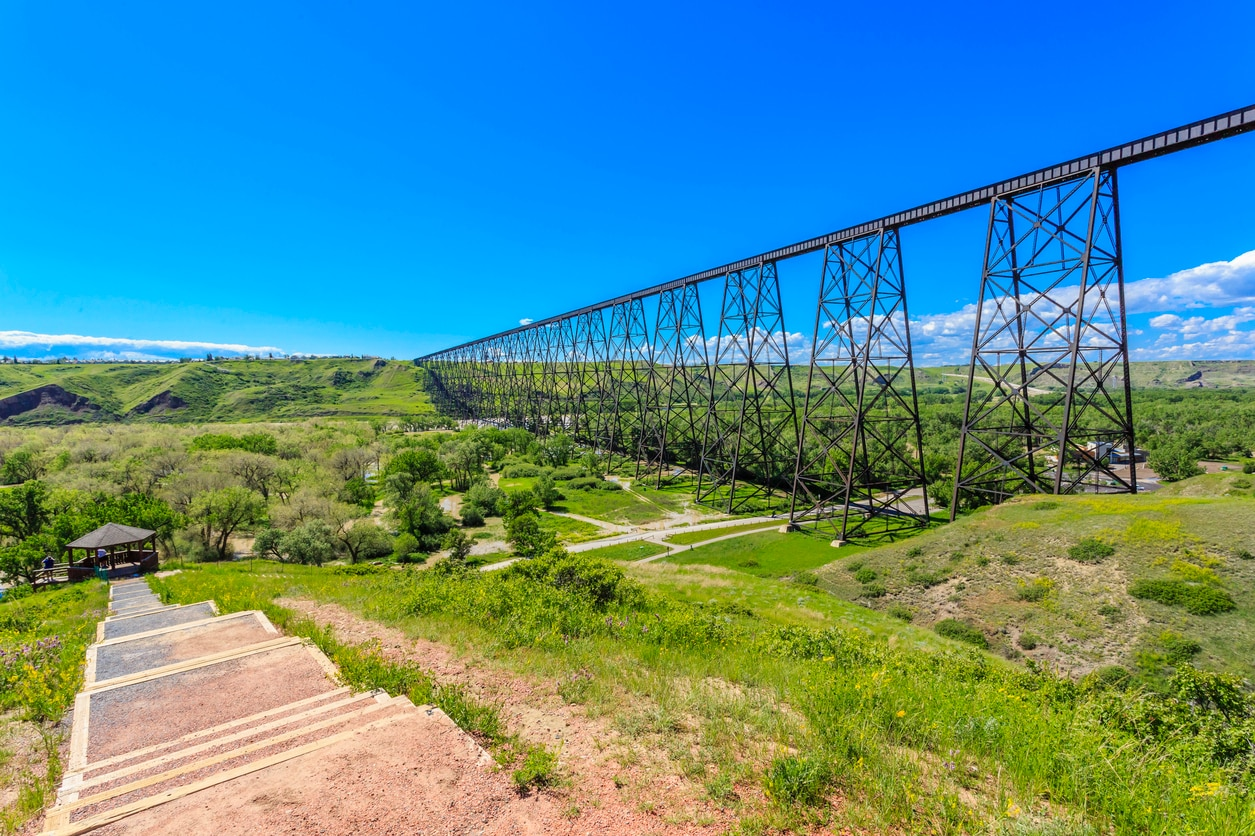 Lethbridge : A Commercial Hub for Many Ranching and Farming Communities in the Surrounding Area