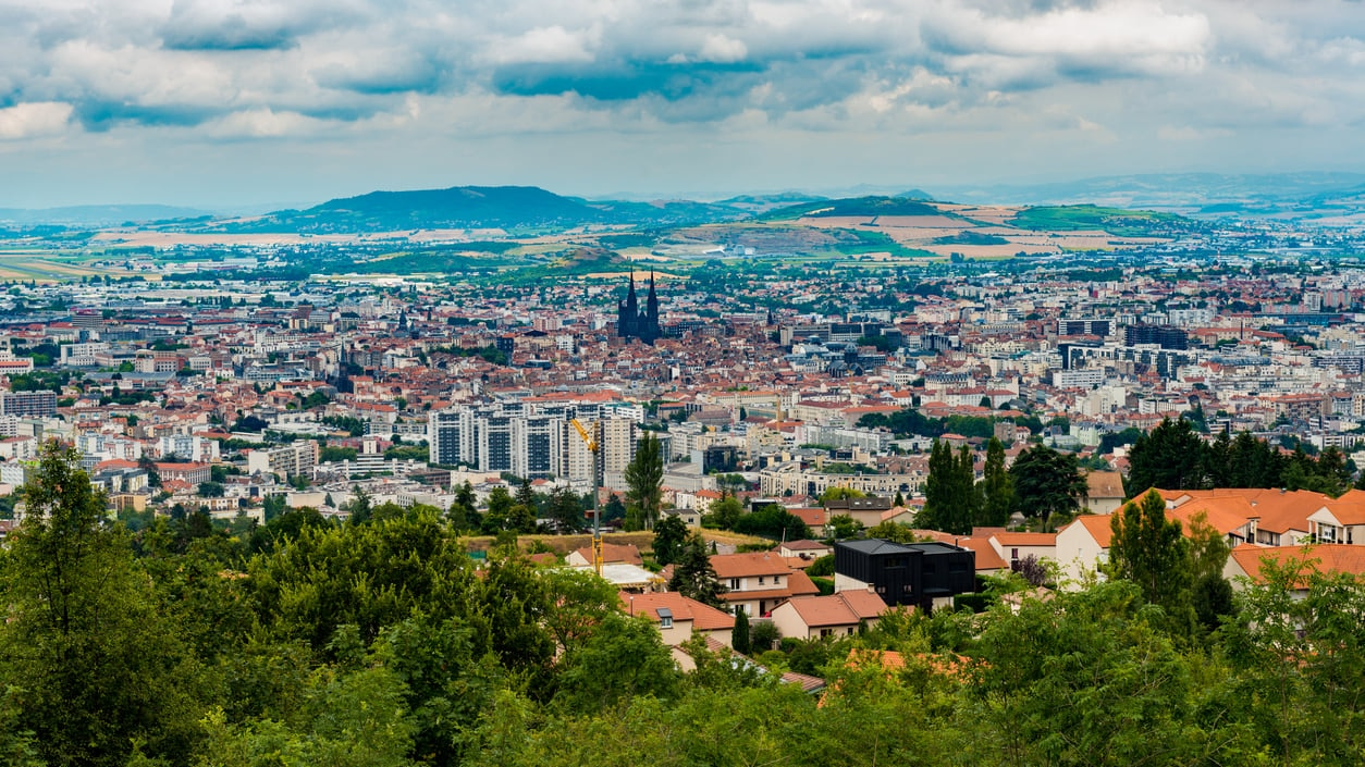 Clermont-Ferrand : Auvergne's Industrial Capital Distinctive with a Skyline That Has a Moodily Gothic Ambiance