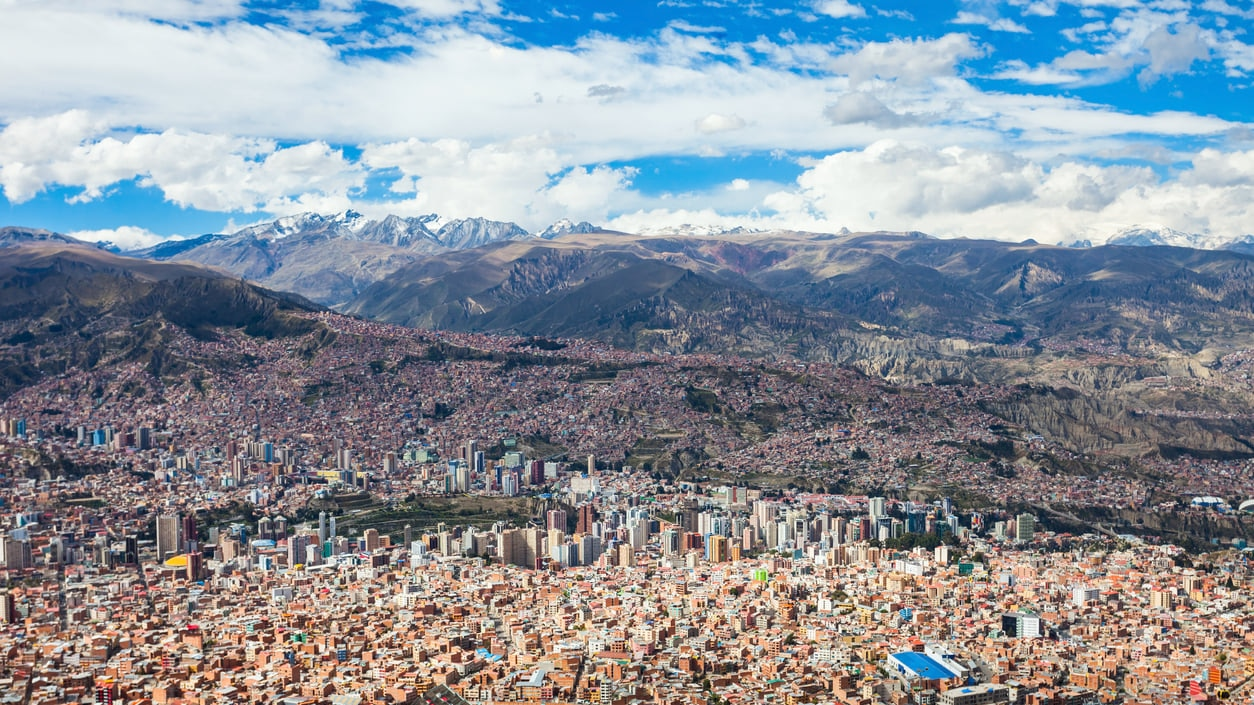 La Paz : The City of Bolivia that Touches the Clouds