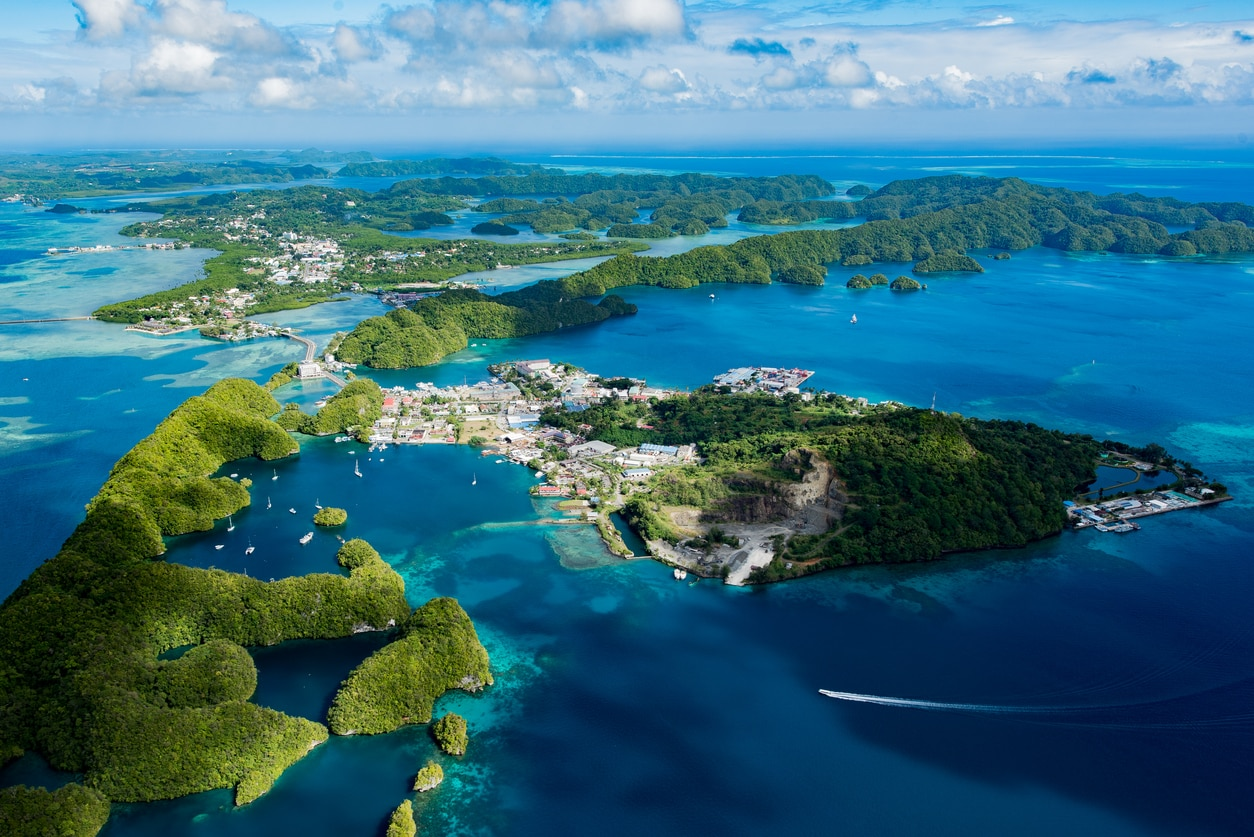Koror : The Commercial Center and the Only Notable City of Palau.