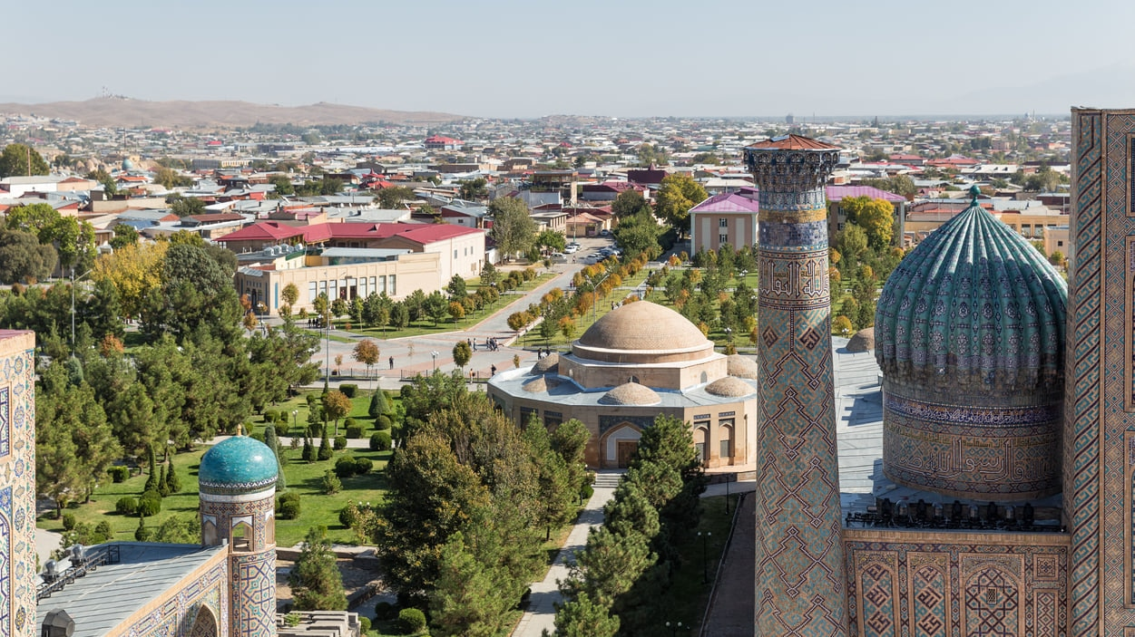 Samarkand:Melting Pot of World's Cultures
