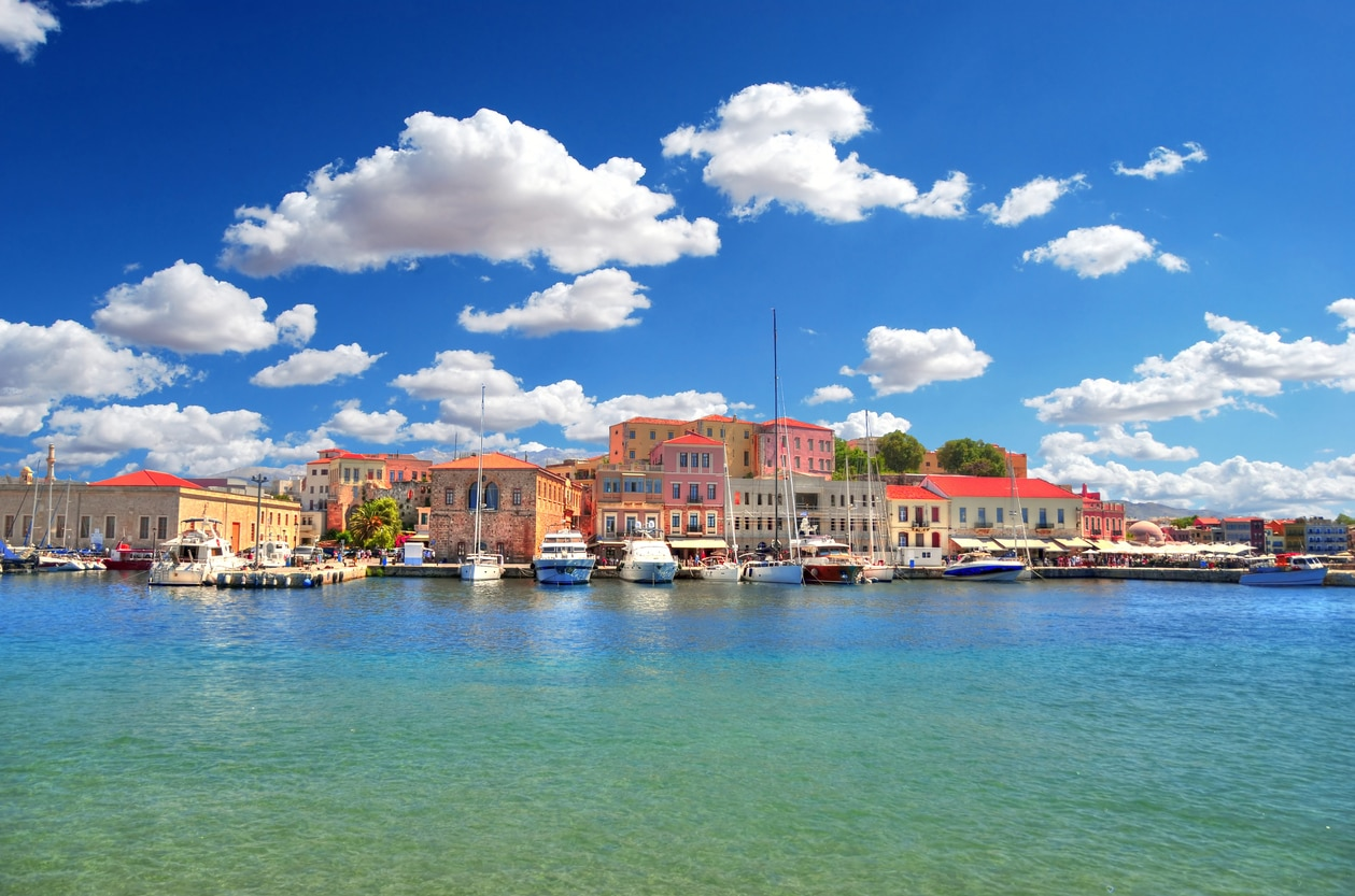 Chania : The Evocative City in Crete with Narrow Lanes that Culminates at One of Greece's Magnificent Harbor