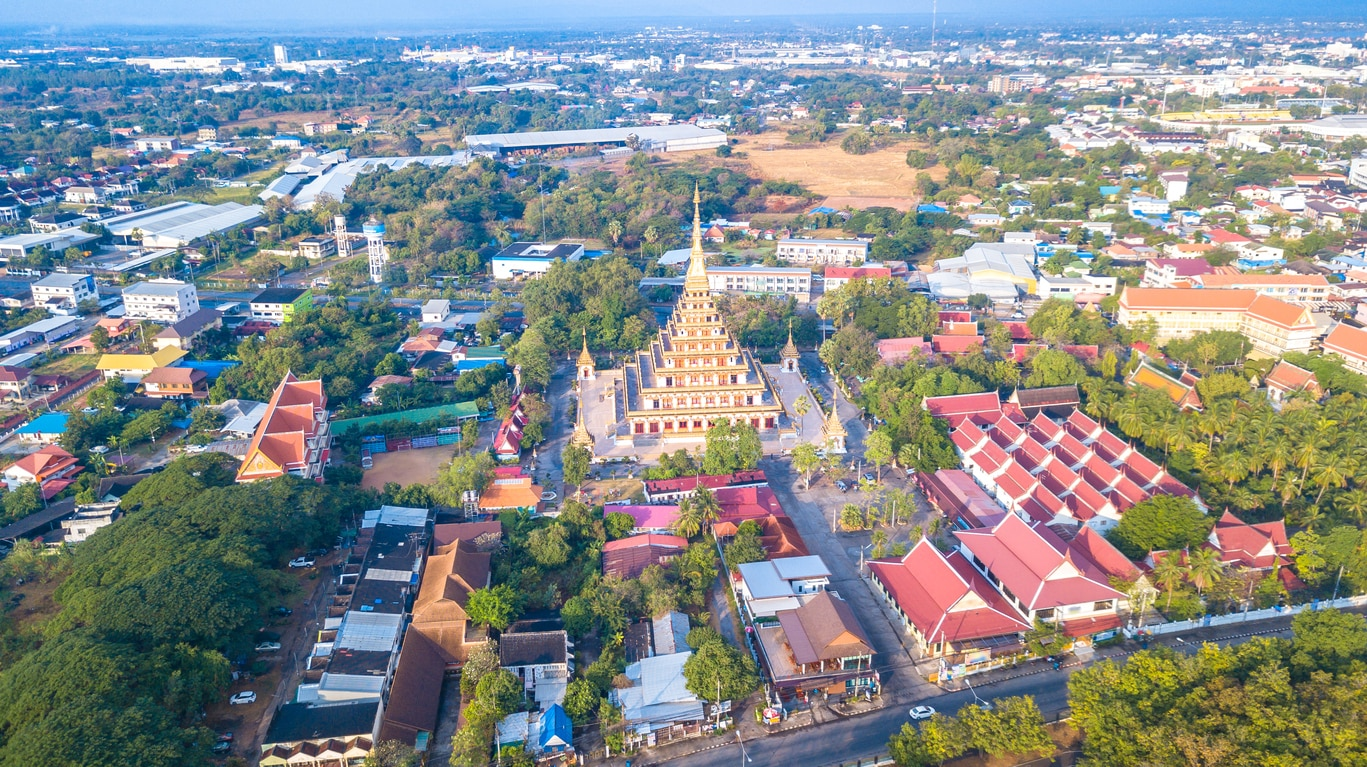 Khon Kaen : The Beautiful City in Isan, Thailand that Is Rich in Culture and History