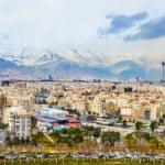beautiful view of Tehran capital city of Iran