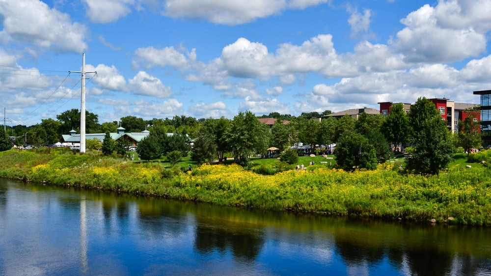 Eau Claire:Explore Gorgeous Bike Trails Along the Chippewa Falls River and Discover Wisconsin's Hidden Gems