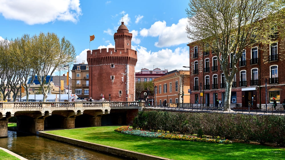 Perpignan : A Southern French City with Medieval Core Influence.
