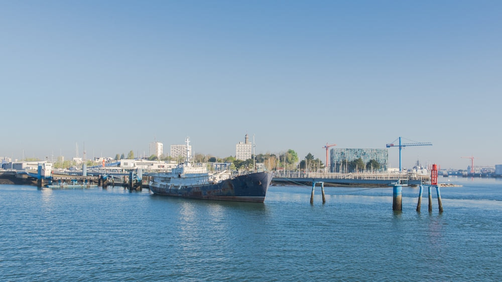 Lorient : Brittany's Seaport Town with Historic Stone Buildings and Beautiful White-Sand Beach.