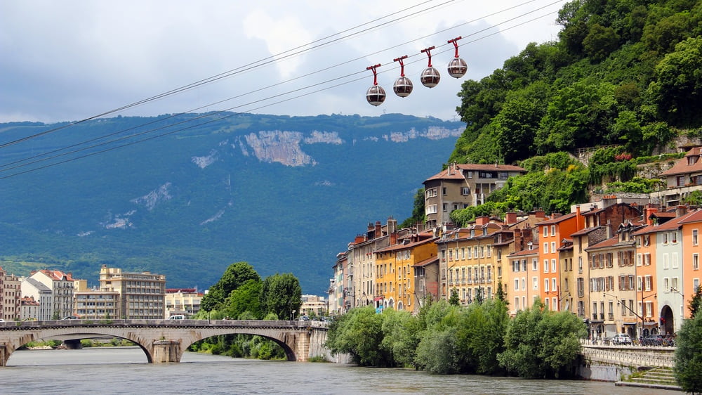 Grenoble : A Historic Capital in the South East of France Embraced by the French Alps