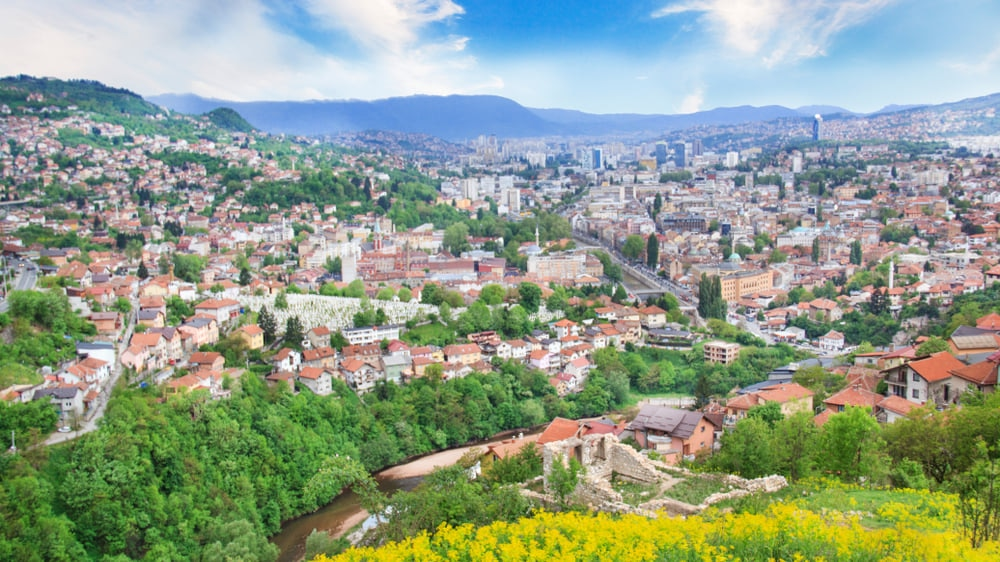 Sarajevo : Once War Ridden City Stands In Colorful Hues of Architecture