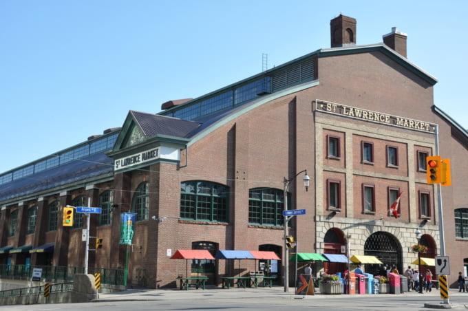 The St. Lawrence Market Toronto