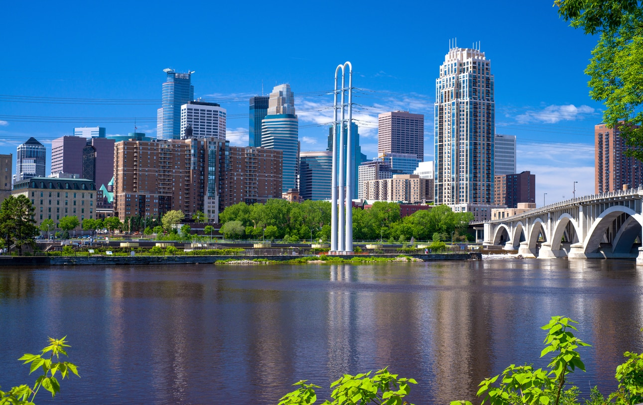 Minneapolis : The Most Artistic and Largest Town Located on the Prairie Booming with Progressive Prosperity