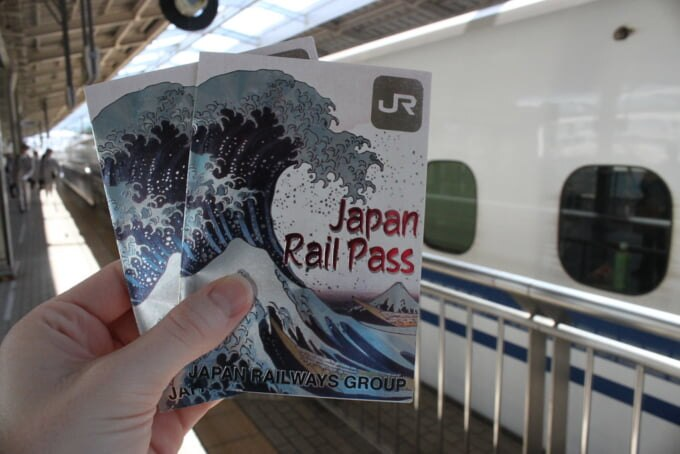 JR Pass Japan Rail Pass for unlimited train travel in Japan