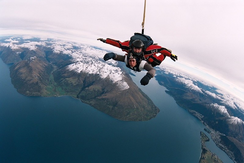 The Top 7 Sky Diving Spots in New Zealand
