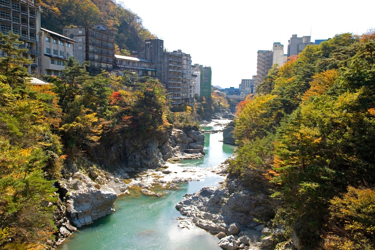 Beautiful Hot Spring Towns and Onsen Resorts Easy to Reach From Tokyo