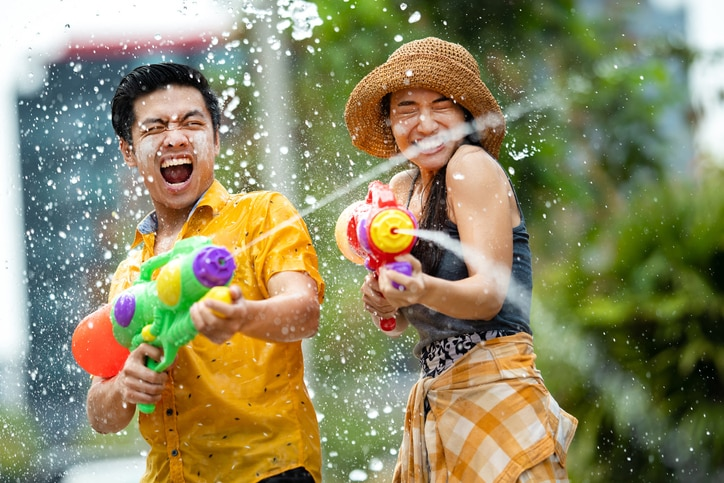 A Guide to the Thai Festival of Songkran: The World's Largest Water Fight