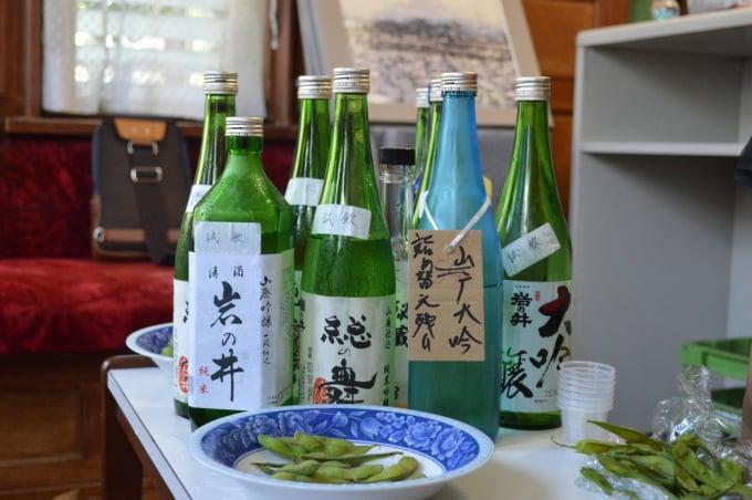 Sake or nihonshu, Japanese alcohol