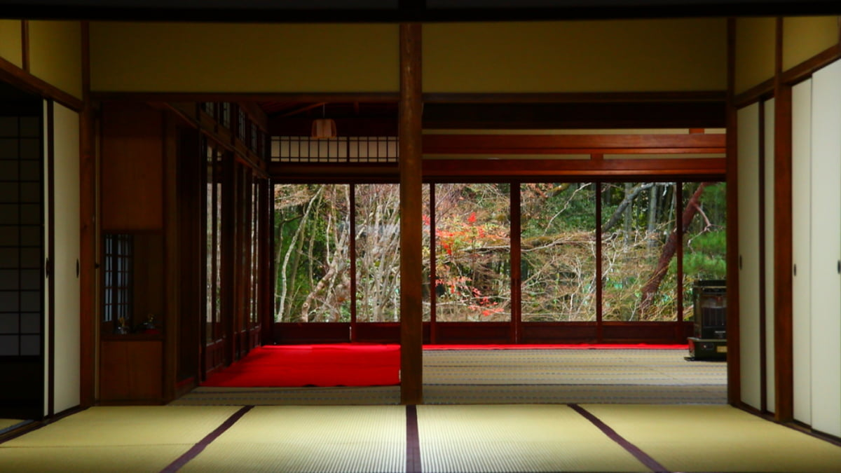 Traditional Japanese Ryokan to Stay at in Kyoto