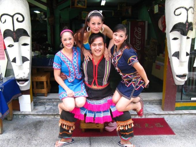 Atayal aboriginal people in Wulai, Taiwan
