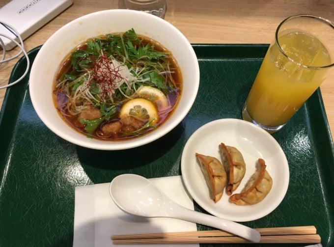 T's Tantan Vegan Ramen in Tokyo