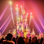 Incredible Night Show and Fireworks at Tokyo DIsneyland, Japan