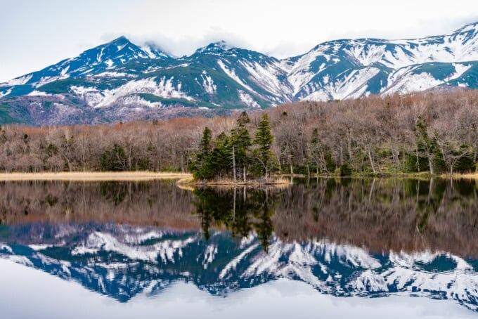 Shiretoko National Park in Hokkaido Japan