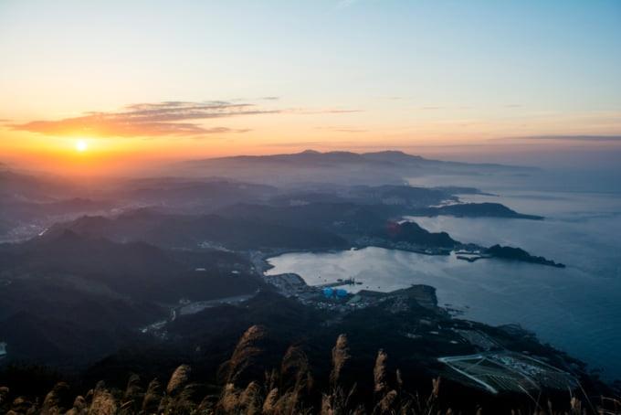 View of Keelung Mountain near Jiufen, Taiwan