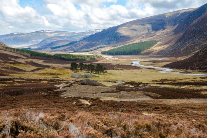 Cairngorm Mountains Scotland