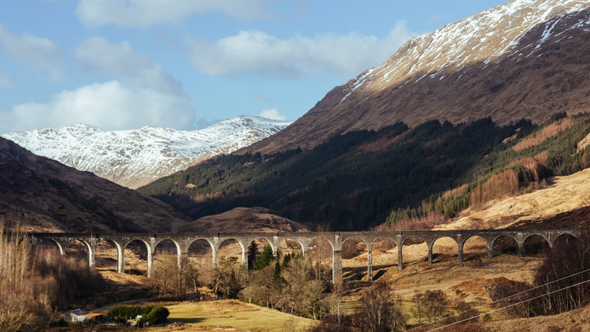 The Ultimate Train Itinerary in Scotland, Travel by Rail Through the Scottish Highlands