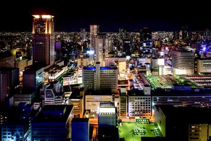 Intercontinental Osaka view
