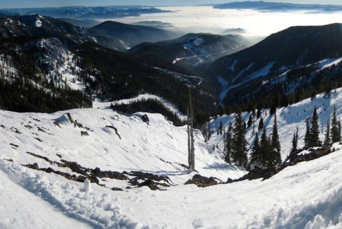 Montana snowbowl ski resort