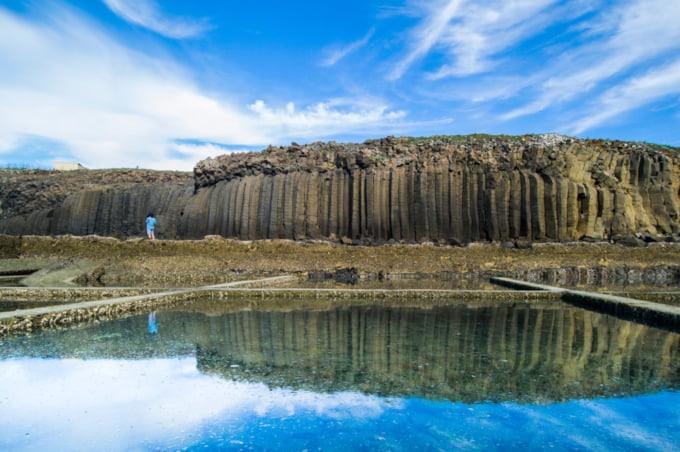 Beautiful basalt scenery in Tongpan Penghu