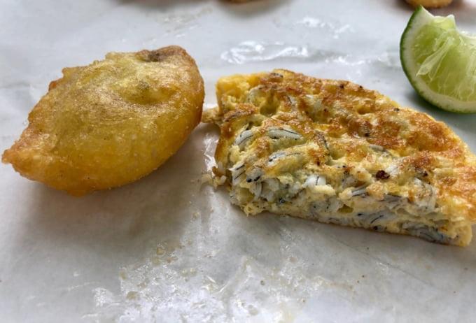 Whitebait Fritter New Zealand food