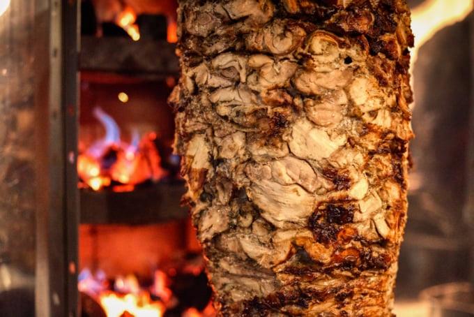 Turkish durum doner classic streetfood in Istanbul