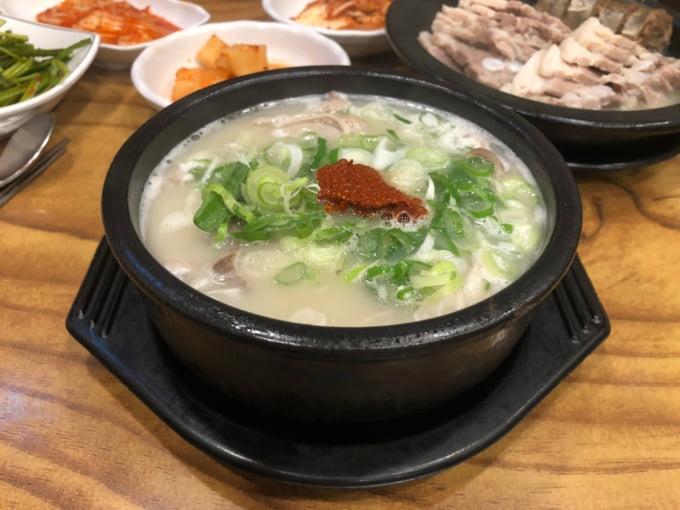 Pork Soup Busan specialty
