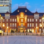 Tokyo Station central transport hub of Japan