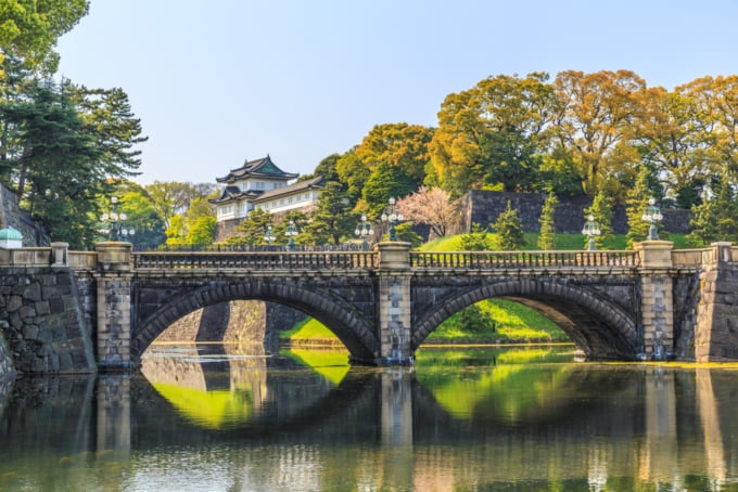 Incredible view of Tokyo Imperial Palace