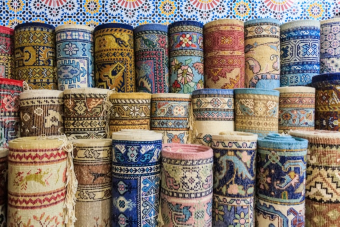 Turkish carpets Grand Bazaar
