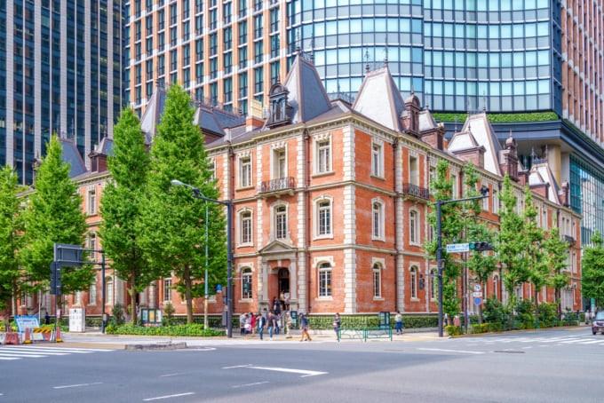 Beautiful museum building in Tokyo